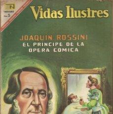 Tebeos: JOAQUIN ROSSINI - EL PRINCIPE DE LA OPERA COMICA Nº 168. Lote 80906612