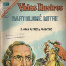 Tebeos: BARTOLOME MITRE - EL GRAN PATRIOTA ARGENTINO Nº 158. Lote 80906724