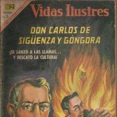 Tebeos: DON CARLOS DE SIGUENZA Y GONGORA Nº 160. Lote 80906860