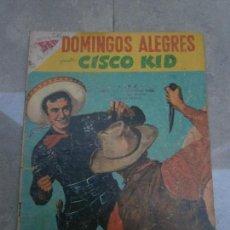 Tebeos: CISCO KID - DOMINGOS ALEGRES N° 245 - ORIGINAL EDITORIAL NOVARO. Lote 81159136