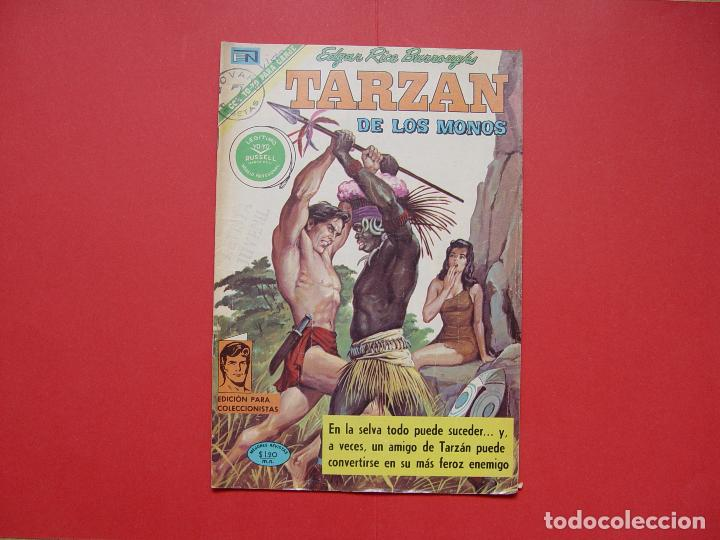 CÓMIC: TARZÁN DE LOS MONOS (EDIT. NOVARO -MÉXICO-) 1971 Nº 265 ¡ORIGINAL! ¡COLECCIONISTA! (Tebeos y Comics - Novaro - Tarzán)