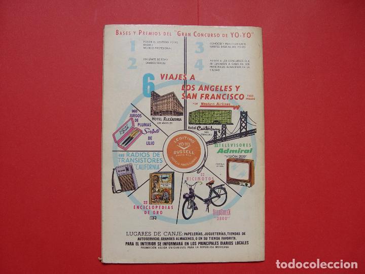 Tebeos: Cómic: TARZÁN DE LOS MONOS (Edit. Novaro -México-) 1971 nº 265 ¡ORIGINAL! ¡Coleccionista! - Foto 2 - 81210316