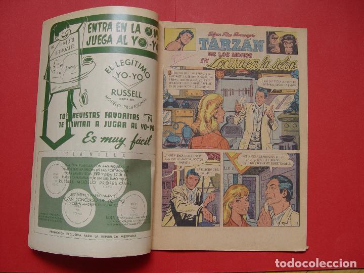Tebeos: Cómic: TARZÁN DE LOS MONOS (Edit. Novaro -México-) 1971 nº 265 ¡ORIGINAL! ¡Coleccionista! - Foto 3 - 81210316