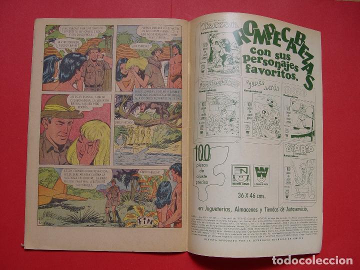 Tebeos: Cómic: TARZÁN DE LOS MONOS (Edit. Novaro -México-) 1971 nº 265 ¡ORIGINAL! ¡Coleccionista! - Foto 4 - 81210316