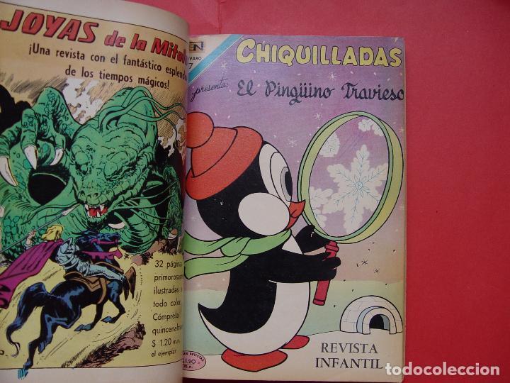 Tebeos: Tomo con 14 comics NOVARO (México, 1971) ¡Original! ¡Coleccionista! - Foto 8 - 81212472