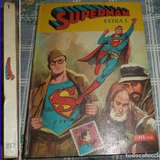Tebeos: SUPERMAN TOMO EXTRA 1 LIBROCOMIC NOVARO 1978 PASTA DURA 192 PAGINAS COLOR . Lote 81244420