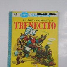 Tebeos: ALEGRIAS DE WALT DISNEY - EL PATO DONALD Y SU TRENECITO. EDITORIAL NOVARO. TDKC22. Lote 82018892