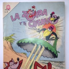 Tebeos: LA ZORRA Y EL CUERVO 1965 NOVARO. Lote 82620902