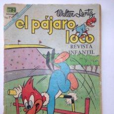 Tebeos: EL PÁJARO LOCO NOVARO 1968. Lote 82621015