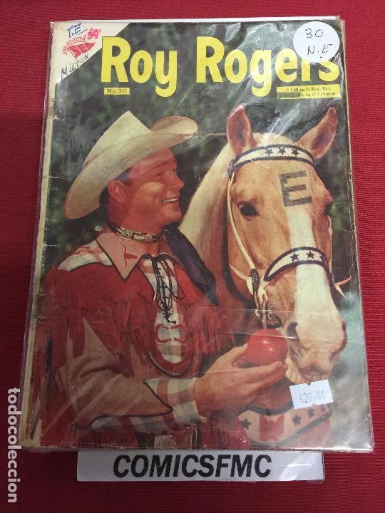 NOVARO ROY ROGERS NUMERO 30 NORMAL ESTADO (Tebeos y Comics - Novaro - Roy Roger)