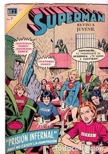 SUPERMAN NUM 840 PRISION INFERNAL (Tebeos y Comics - Novaro - Superman)