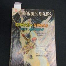 Tebeos: GRANDES VIAJES - Nº 31 - CIMAS Y SIMAS DEL MUNDO - NOVARO - . Lote 83375476