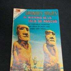 Tebeos: GRANDES VIAJES - Nº 79 - EL MISTERIO DE LA ISLA DE PASCUA - NOVARO - . Lote 83397572