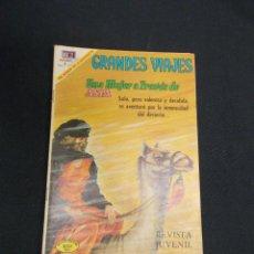 Tebeos: GRANDES VIAJES - Nº 78 - UNA MUJER A TRAVES DE ASIA - NOVARO - . Lote 83397948