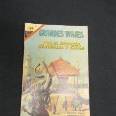 Tebeos: GRANDES VIAJES - Nº 59 - POR EL INDOSTAN, CACHEMIRA Y CHINA - NOVARO - . Lote 83398100