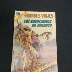 Tebeos: GRANDES VIAJES - Nº 74 - LOS VENECIANOS EN ORIENTE - NOVARO - . Lote 83398288