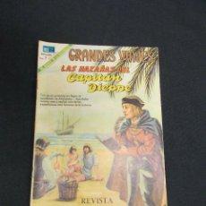 Tebeos: GRANDES VIAJES - Nº 77 - LAS HAZAÑAS DEL CAPITAN DIEPPE - NOVARO - . Lote 83398844