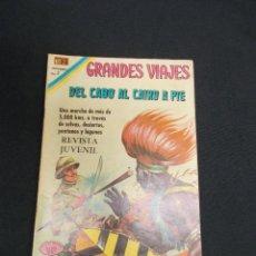 Tebeos: GRANDES VIAJES - Nº 84 - DEL CABO AL CAIRO DE PIE - NOVARO - . Lote 83399788