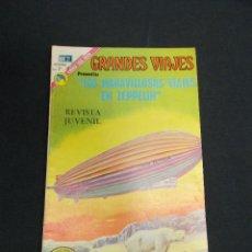 Livros de Banda Desenhada: GRANDES VIAJES - Nº 131 - LOS MARAVILLOSOS VIAJES EN ZEPPELIN - NOVARO - . Lote 83400284