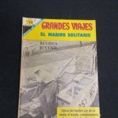 Tebeos: GRANDES VIAJES - Nº 60 - EL MARINO SOLITARIO - NOVARO -. Lote 83400444
