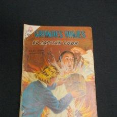 Tebeos: GRANDES VIAJES - Nº 32 - EL CAPITAN COOK - NOVARO -. Lote 83400920