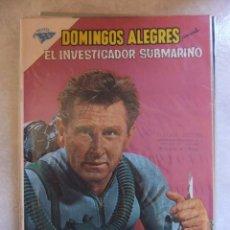 Tebeos: DOMINGOS ALEGRES Nº 392 EL INVESTIGADOR SUBMARINO NOVARO . Lote 83409824