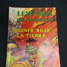 Tebeos: LEYENDAS DE AMERICA - Nº 105 - TRIUNFO BAJO LA TIERRA - NOVARO - . Lote 83474928