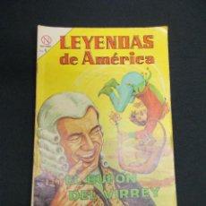 Tebeos: LEYENDAS DE AMERICA - Nº 99 - EL BUFON DEL VIRREY - NOVARO - . Lote 83475412