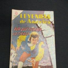Tebeos: LEYENDAS DE AMERICA - Nº 114 - POR QUE TIEMBLA LA TIERRA - NOVARO - . Lote 83475784