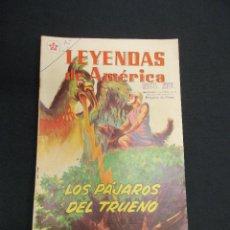 Tebeos: LEYENDAS DE AMERICA - Nº 78 - LOS PAJAROS DEL TRUENO - NOVARO - . Lote 83475908