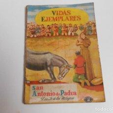 Tebeos: VIDAS EJEMPLARES Nº 7 (SAN ANTONIO DE PADUA). Lote 83500316