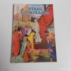 Tebeos: VIDAS EJEMPLARES Nº 181 (SANTA GENOVEVA). Lote 83510028