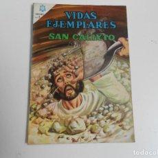 Tebeos: VIDAS EJEMPLARES Nº 225 (SAN CALIXTO). Lote 83511752
