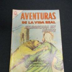 Tebeos: AVENTURAS DE LA VIDA REAL - Nº 123 - EMBOSCADA EN NINIVE - NOVARO -. Lote 84015300