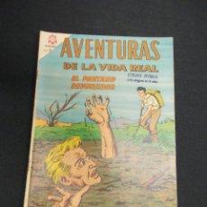 Tebeos: AVENTURAS DE LA VIDA REAL - Nº 116 - EL PANTANO DEVORADOR - NOVARO -. Lote 84016088