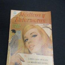 Tebeos: MEDICOS Y ENFERMERAS - Nº 9 - LINDA LARK ENFERMERA VOLUNTARIA - NOVARO -. Lote 84021580