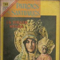 Tebeos: PATRONOS Y SANTUARIOS Nº 11 LA VIRGEN NEGRA NOVARO. Lote 84284672
