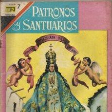 Tebeos: PATRONOS Y SANTUARIOS Nº 18 NTRA. SRA. DE SAN JUAN DE LOS LAGOS. Lote 84284704