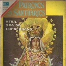 Tebeos: PATRONOS Y SANTUARIOS Nº 17 NTRA. SEÑORA DE COPACABANA. Lote 84284728