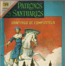Tebeos: PATRONOS Y SANTUARIOS Nº 9 SANTIAGO DE COMPOSTELA NOVARO. Lote 84315320