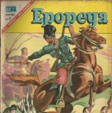 Tebeos: EPOPEYA - EL SITIO DE SEBASTOPOL Nº 104 A.1967 NOVARO. Lote 84702932