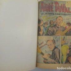Tebeos: VIDAS EJEMPLARES, COMPENDIO DE 14 CÓMICS, 1967. EDICIONES NOVARO. ENCUADERNADOS EN 1 TOMO. Lote 85279512