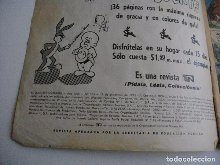 Tebeos: COMICS EL LLANERO SOLITARIO Nº 305 - EL DE LAS FOTOS - VER TODOS MIS LOTES DE TEBEOS - Foto 2 - 85391720