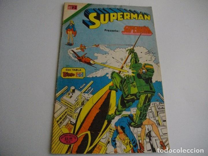 EL DE LAS FOTOS MIRA TODOS MIS TEBEOS Y MUCHOS OTROS ARTICULOS DE COLECCION NO TE LOS PIERDAS SE (Tebeos y Comics - Novaro - Superman)