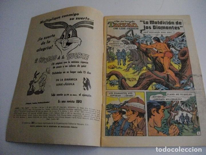 Tebeos: TARZAN DE LOS MONOS SERIE AGUILA Nº 444 AÑO 1975 EL DE LAS FOTOS - VER TODOS MIS LOTES DE TEBEOS - Foto 3 - 85406808