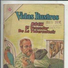 Tebeos: VIDAS ILUSTRES 79: KOCH EL VENCEDOR DE LA TUBERCULOSIS, 1962, NOVARO, BUEN ESTADO.. Lote 86049924