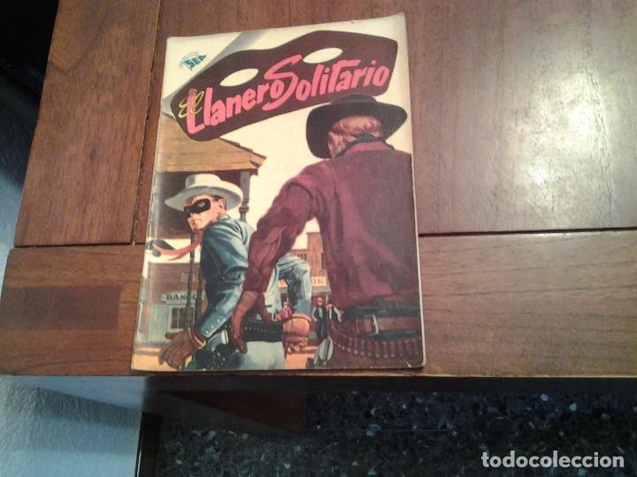 EL LLANERO SOLITARIO Nº 40 - NOVARO AÑO 1956 - MUY DIFICIL DE ENCONTRAR EN ESTE ESTADO (Tebeos y Comics - Novaro - El Llanero Solitario)