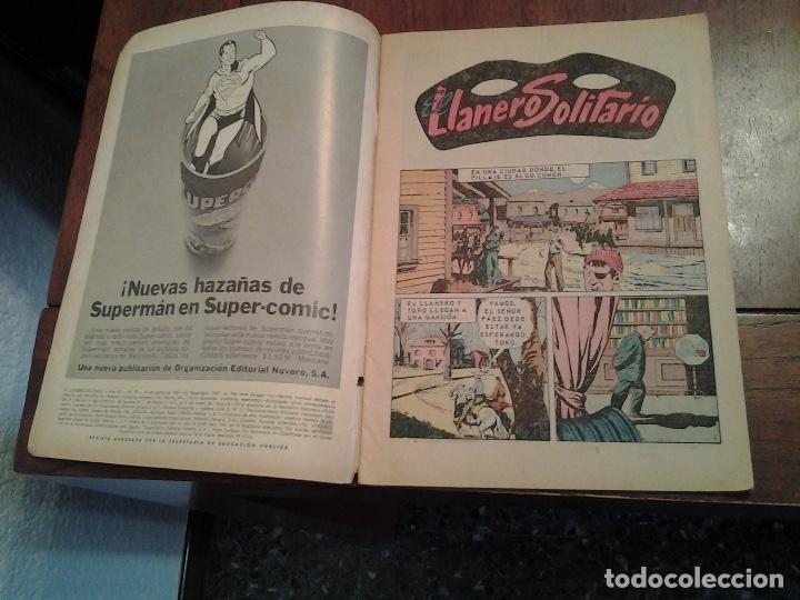 Tebeos: EL LLANERO SOLITARIO Nº 173 - NOVARO AÑO 1967 - MUY DIFICIL DE ENCONTRAR EN ESTE ESTADO - Foto 2 - 86226620
