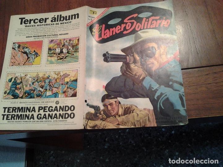 Tebeos: EL LLANERO SOLITARIO Nº 173 - NOVARO AÑO 1967 - MUY DIFICIL DE ENCONTRAR EN ESTE ESTADO - Foto 3 - 86226620