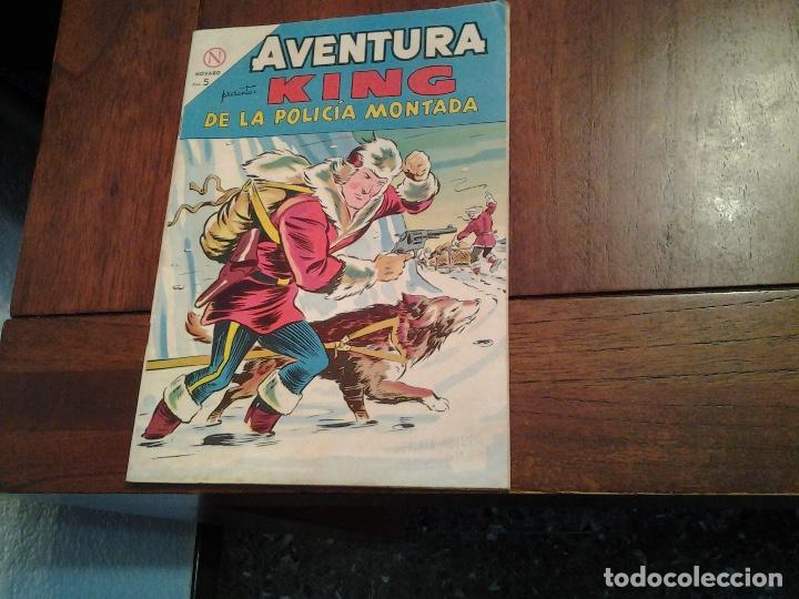 AVENTURA KING DE LA POLICIA MONTADA Nº 328 - NOVARO AÑO 1964 - DIFICIL DE ENCONTRAR EN ESTE ESTADO (Tebeos y Comics - Novaro - Aventura)